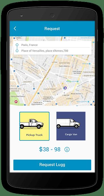 transportation customer app