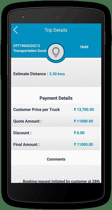 Transportation Driver App
