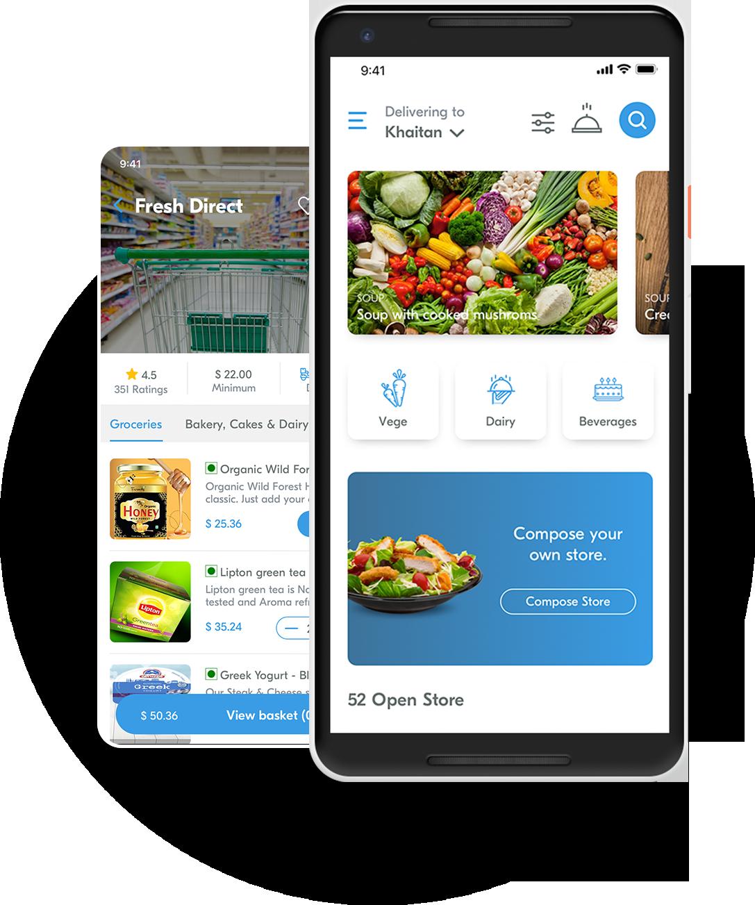 InstaShop Clone App