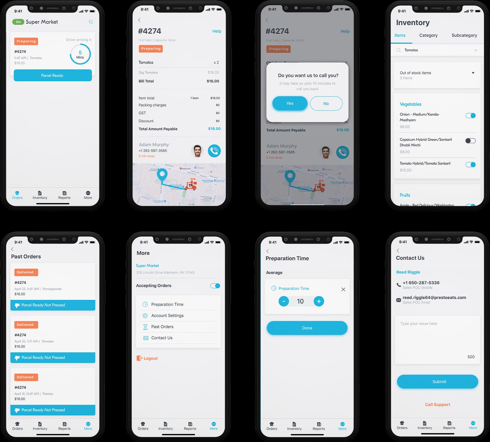 Admin Panel Screenshot