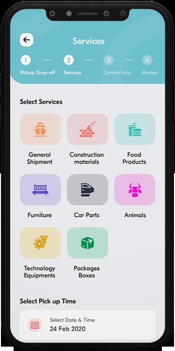 Acargo - transportation app