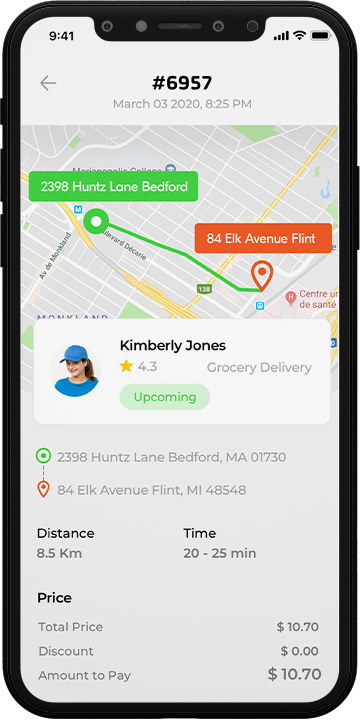 Fabra - all delivery app