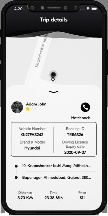 XL cab - taxi app