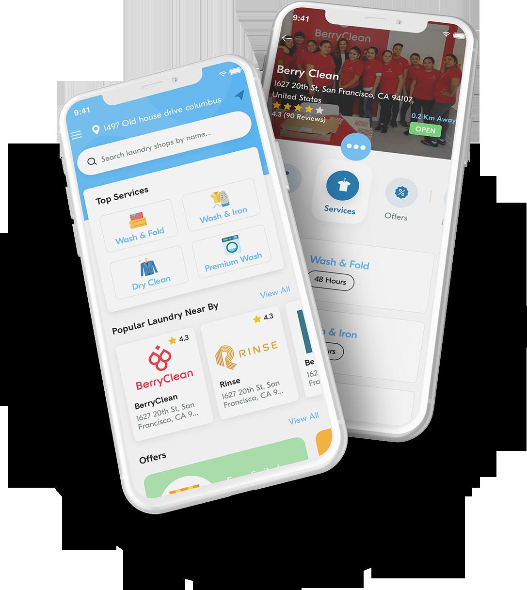 laundry app development company