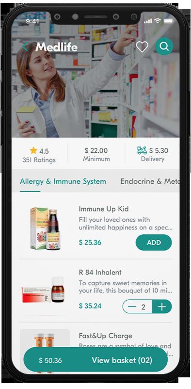 pharma customer mobile