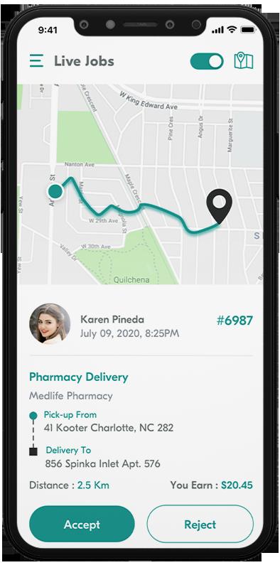 Delivery Boy App