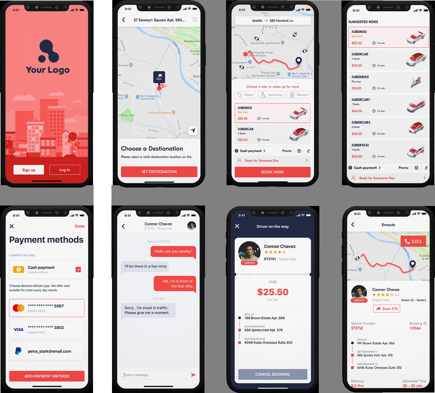 customer app design