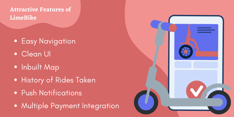 Features of LimeBike