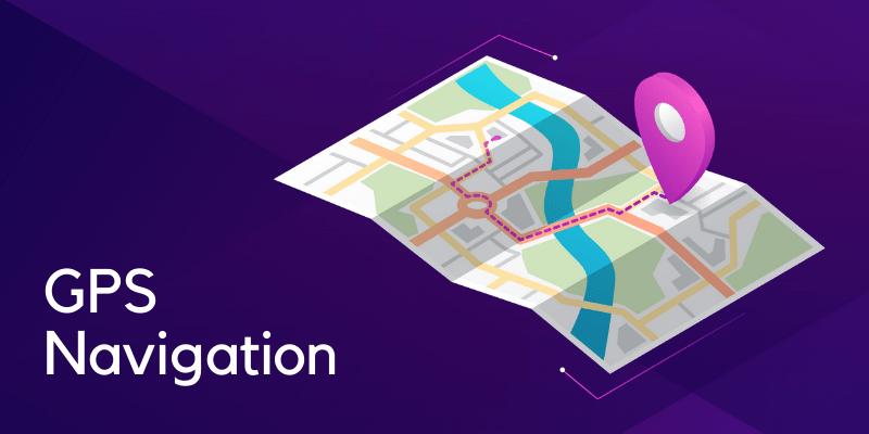 gps navigation app development
